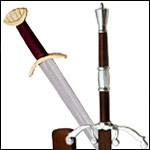 Inexpensive Western European Medieval Renaissance Swords and Sablers