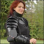 Medieval Female Leather Armor