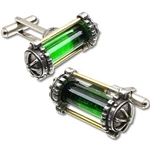 Miasmatic Reactor Core Cufflinks Alcehmy 17-CL11