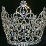 Crystal Crown with Dangles 172-10218