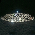 Elegant Crystal Star Mountain Tiara 172-10241