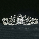 Crystal and Wire Mess Tiara 172-12014