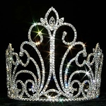Crystal Fountain Tiara 172-12545