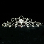 Fancy Twisted Wire Flower Tiara