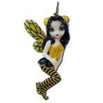 Bumblebee Fairy Strangeling Ornament