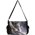 Snowy Owl Messenger Bag