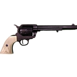 Old West M1873 Cavalry Revolver Replica Black Finish