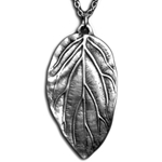 Elven Leaf Necklace Pendant 126.0676