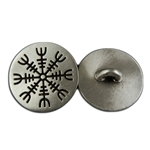 Viking Helm of Awe Button 107.1441