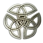 Celtic Knotwork Brooch 116.0645