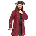 Plus Size George Lowther Pirate Coat