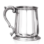 George III Heavy Gauge One Pint Pewter Tankard HG119