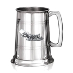 Father of The Bride Badge One Pint Pewter Tankard