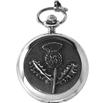 Scottish Thistle Pocket Watch