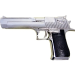 Desert Eagle Pistol Non Firing Replica Chrome 24-221123N