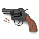 Olympic 6MM Blank Firing Revolver Wood Grip