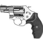 "Bruni .38 3"" Barrel Blank Firing Revolver Nickel 9mm 24-38245"