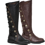 Adventurer's Boots -Black or Brown