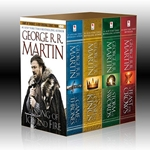 A Game of Thrones 5 Book Boxed Set A Song of Ice and Fire Series  27-52905-3