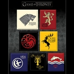 Game of Thrones House Sigil Magnet Set 286-20-696