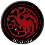 Targaryen Embroidered Patch 286-21-115