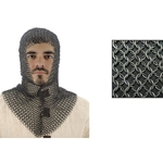 Chainmail Coif V-Shape Face AB2806