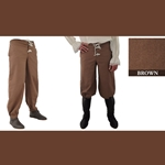 Pirate Pants, Brown, Medium