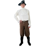 Pirate Pants, Brown, Large