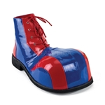 Men's Large Toe Red and Blue Clown Shoes