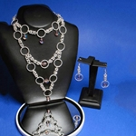 Circle of Life Chainmal Necklace and Earring Set