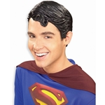 Superman Vinyl Wig Adult