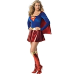 Supergirl Deluxe Adult Costume 38-27266