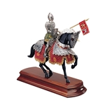 Miniature Spanish Knight on Horseback