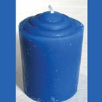 Fifteen Hour Blue Votive Candle 45-CVABL