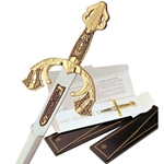 Damascene Tizona Cid Letter Opener by Marto