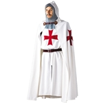 Knights Templar Tunic and Cloak - Set