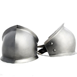 Elbow Cops Flared Pair Suitable for the 1200's to 1300's 16 gauge steel