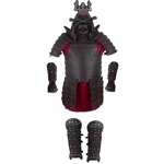 Samurai - Complete Leather Armor - Black