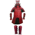 Samurai - Complete Leather Armor - Red