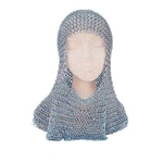 Chainmail Coif Butted Steel Rings 62-9888