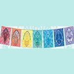 The Chakra Rainbow Series Flags 63-0055
