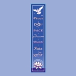 Peace Streamer Wall Hanging 63-05