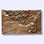 Earth Wall Collage Plaque 64-ZE