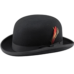The Classic Derby Hat - Black,The Classic Derby in Black