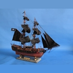 Caribbean Pirate Ship 26 inch - Wooden With Sails