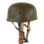 German WWII M38 Paratrooper Helmet - Antiqued
