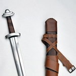 11th Century Viking Sword with Integrated Sword Belt