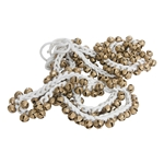 String of 100 Round Ankle Bells - Pair