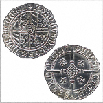 Charles the Bold Medieval Coin 1474  BI-110