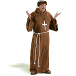 Medieval Monk  Adult Costume 100-133363